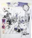 Super Smile FLY53 1990s Britpop Civil War T-shirt