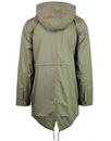 J3517 LIGHTWEIGHT FISHTAIL PARKA DARK IRIS