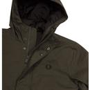 FRED PERRY Men's Retro Padded Parka Jacket HG