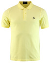 fred perry basic pique polo yellow