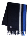 fred perry woven scarf navy
