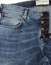 FRENCH CONNECTION Slim Leg Retro Denim Jeans (LI)