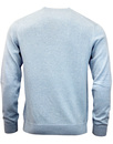 FRENCH CONNECTION Retro Mod Crew Neck jumper Blue