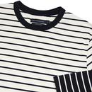FRENCH CONNECTION Retro Stripe Long Sleeve T-shirt