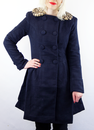 Christina Coat FRIDAY ON MY MIND Retro Mod Coat N