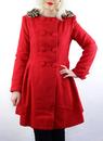 Christina Coat FRIDAY ON MY MIND Retro Mod Coat R