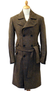 FERGUSON of LONDON RETRO MOD TRENCH COAT 70s