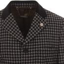 Vinnie GIBSON LONDON Mod Geo Dogtooth Dress Jacket