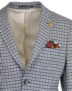 GIBSON LONDON Towergate Retro Mod Gingham Suit