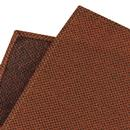 GIBSON LONDON Mod Woven Pocket Square in Rust