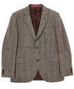 GIBSON LONDON Retro 60s Mod Prince of Wales Suit
