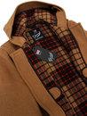 GLOVERALL Retro Checkback Mid Length Duffle Coat T