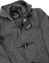 GLOVERALL MC3251 Mens Retro Mid Length Duffle Coat