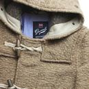 Portland Monty GLOVERALL Textured Wool Duffle Coat