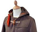 GLOVERALL 3250 Mid Melton Retro Mod Duffle Coat BM