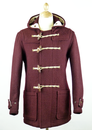 GLOVERALL MID LENGTH MONTY DUFFLE COAT RETRO COATS
