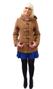 Freda GLOVERALL 4210 Retro 60s Monty Duffle Coat