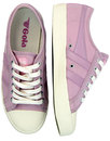 Coaster GOLA Womens Retro 70s Canvas Trainers (PP)