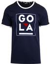 Gowling GOLA CLASSICS Taped Sleeves Ringer Tee (N)