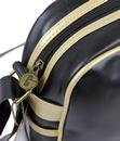 GOLA Redford Retro 70s Sports Shoulder Bag BLK/GLD