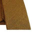 GIBSON LONDON Mod Square End Knitted Tie in Gold