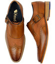 Buckley GOODWIN SMITH 1960s Mod Monk Strap Brogues