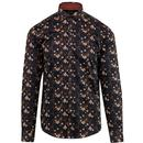 guide london shirt floral black