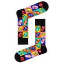 HAPPY SOCKS x ROLLING STONES 3 Pack Sock Gift Box
