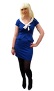 Matilda HEARTBREAKER Retro Mod Tie Collar Dress