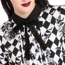 Hauntley HELL BUNNY Halloween Floral Mini Dress