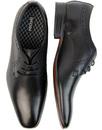 Pullman IKON Mens Retro Causal derby shoes BLACK