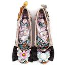 Forest Friends IRREGULAR CHOICE BAMBI Flat Shoes