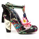 Blossom Bunny IRREGULAR CHOICE Silk Floral Heels B