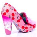Bowtiful IRREGULAR CHOICE Vintage Cherry Heels