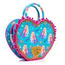 IRREGULAR CHOICE Cross My Heart Retro Robot Bag