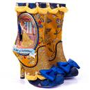 Irregular Choice x Disney Princess Beauty And The Beast A Tale of Enchantment Floral Boots