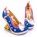 Irregular Choice x Disney Princess Beauty And The Beast Enchanted Castle Heels