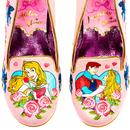 Love Breaks All Spells IRREGULAR CHOICE Pink Heels