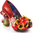 irregular choice ember starwand fairy heels red