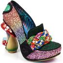 irregular choice hazel corntree fairy heels green