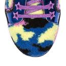 Hide Me IRREGULAR CHOICE Retro 80s Trainers Purple