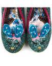 Hop To It IRREGULAR CHOICE Bunny Garden Heels Blue