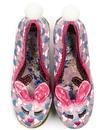 Hop To It IRREGULAR CHOICE Bunny Garden Heels Pink