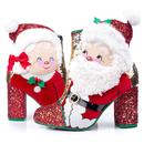 Irregular Choice Kringles Christmas Santa Claus Boots