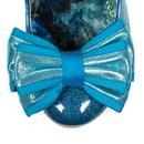 Lady Ban Joe IRREGULAR CHOICE Blue Glitter Shoes