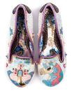 Little Misty IRREGULAR CHOICE Unicorn Heels White