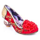 Irregular Choice Love Pudding Christmas Heels