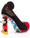 IRREGULAR CHOICE Disney Mickey Mouse Heel Shoes