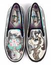 Irregular Choice Misty Reigns Unicorn Trainers Blk