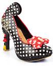 Oh My! IRREGULAR CHOICE Mickey & Minnie Heel Shoes